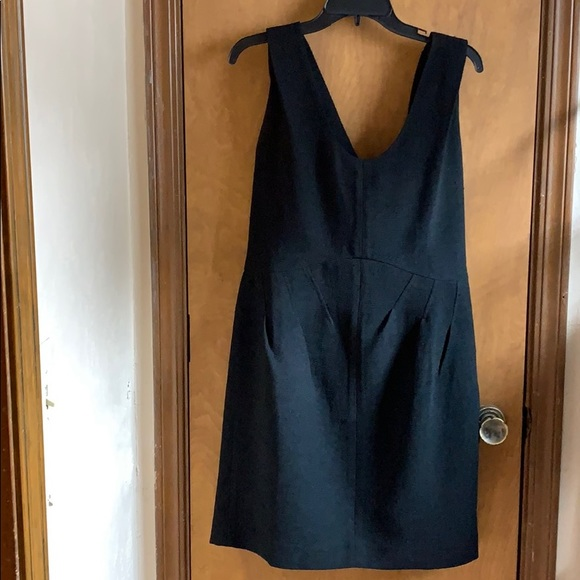 Ann Taylor Dresses & Skirts - Little black dress with draped back